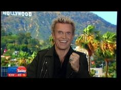 "Billy Idol discusses his soon-to-be released autobiography ""Dancing With..."