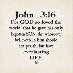Amen! One of the best verses.