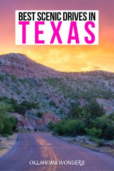 Looking for the best Texas scenic drives? From desert roads to farm roads to Texas scenic byways, here's your Texas scenic drive bucket list! scenic drives in Texas | Texas scenic byways | Texas roads | best places to visit in Texas | where to go in Texas | things to do in Texas | things to see in Texas | what to do in Texas | Texas travel guide | Texas vacation guide | Texas road trip ideas | travel tips for Texas | best places to go in Texas | prettiest places in texas | best Texas road…