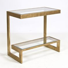 Contemporary Console Table from Worlds Away