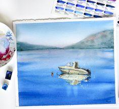 Montenegro, Kotor aby Watercolor
