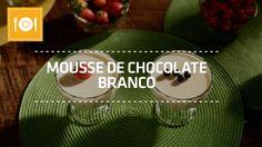 Mousse de Chocolate Branco | Receita de Páscoa | Shoptime