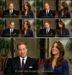 William & Kate engagement interview