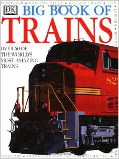 Lots of information for kids or adults in this Big Book of Trains.