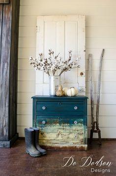 Artistic Furniture Finish | Do Dodson Designs #paintedfurniture #furnituremakeover