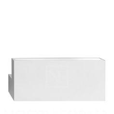Long Light væglampe, hvid, Flos, Piero Lissoni