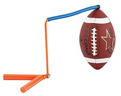 Champion Sports Football Kicking Holder (Orange)