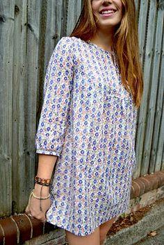 Sew Tessuti Blog - Sewing Tips & Tutorials - New Fabrics, Pattern Reviews: Pattern Review - Wiksten Tova Top + Dress Pattern