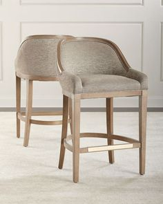 Constance Bar Stool  at Horchow.