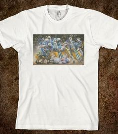 War Games - The Collage Art Of Jonathon Prestidge - Skreened T-shirts, Organic Shirts, Hoodies, Kids Tees, Baby One-Pieces and Tote Bags
