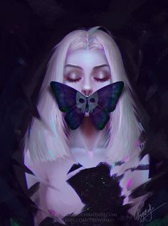 Skull wallpaper by Prywinko on DeviantArt Art Anime Fille, Anime Art Girl, Skull Wallpaper, Art Et Illustration, Character Illustration, Digital Art Girl, Dark Art, Female Art, Art Inspo
