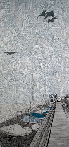 Whitstable West Beach by Clare Halifax, via Flickr