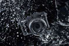 Nixon has designed the first waterproof, interchangeable lens camera in the industry - the AW1. The great thing about this mirror less camera is that you can use it with any Nixon 1 series, but it will only remain waterproof if you use a AW11 or AW10 lens. You can pick yours up with both lenses for $1,000, or with the standard AW11 for $800.