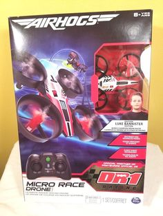 Air Hogs Micro Race Drone for sale online Luke, Bannister, Racing, Games, Toys, Ebay, Running, Activity Toys