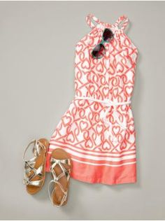 Love this tween outfit, get smthn like this for Grace this summer!