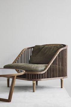 Plywood Furniture, Plumbing Pipe Furniture, Teak Plywood, Japanese Chair, Japanese Furniture, Modern Furniture, Nordic Furniture, Italian Furniture Design, Lounge Furniture