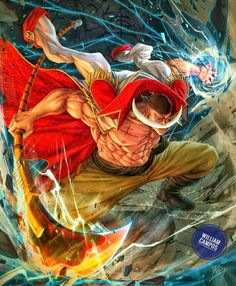 Manga Anime One Piece, Anime Manga, Barba Branca One Piece, Roronoa Zoro, Comic Villains, One Piece Drawing, Itachi Uchiha, Animes Wallpapers, Cool Art