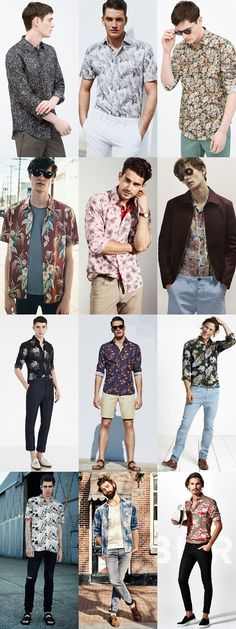 men's modern alternative to vintage classics hawaiian