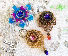(5) Name: 'Jewelry : How To Bead Bezel a Rivoli of Any Size!