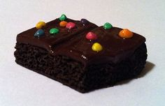 Brownie Magnet Polymer Clay Magnet Food by GuiltfreeDecadence, $9.00 Polymer Clay Magnet, Clay Magnets, Clay Food, Refrigerator Magnets, Crackers, Beaded Bracelets, Diy Crafts, Cake, Handmade Gifts