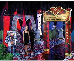 Wonderland Arch will give your Wonderland themed party a touch of whimsy the Queen of Hearts would be captivated with. The personalized one sided Wonderland Arch is made from sturdy cardboard and measures 9 feet 6 inches high x 6 feet 2 inches wide. Decorate the entrance of your Wonderland party and capture the fun by snapping pictures of your guest entering the mystical rabbit hole.