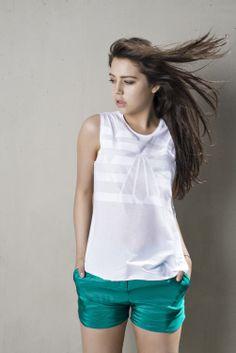 2014 shop it online on www. L Icon, Ethical Fashion Brands, Summer 2014, Basic Tank Top, Tank Tops, Handmade, Shopping, Women, Taschen
