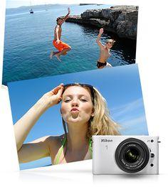 Nikon Nikon 1 J1 White One-Lens Kit