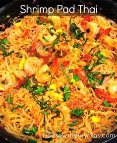 Shrimp Pad Thai. | My Dishes | Pinterest | Shrimp Pad Thai and Shrimp