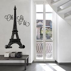 Vinilo Decorativo - Paris Oh Là Là. Encuéntralo en www.pick2stick.com desde 27,10€