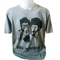 T-Shirt adulte gris singes