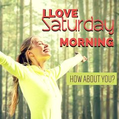 I love #Saturday mornings! How about YOU? #Crystaltravel