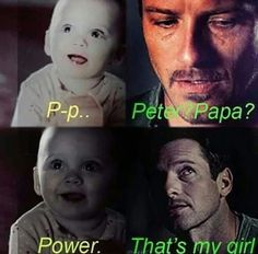 Teen Wolf baby Malia & Peter as a father...
