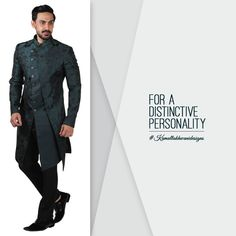 For a distinctive personality. Groomsmen, Personality, Menswear, Mens Fashion, Wedding Dresses, Movie Posters, Movies, Fashion Design, Moda Masculina