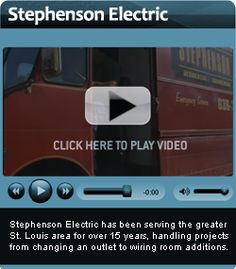 Stephensonelectric  is the most experienced electric contractor company in St. Louis for residential, commercial and all types of electronic installation, service and repairs. visit : http://www.stephensonelectric.com.