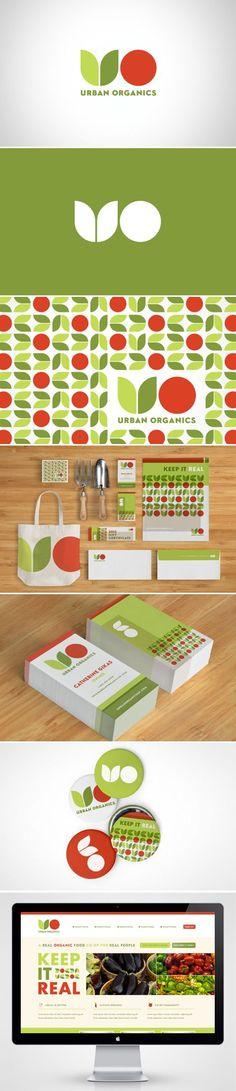 Urban Organics Corporate Identity | Fivestar Branding – Design and Branding Agency & Inspiration Gallery