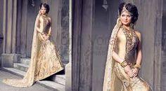 Image result for gold indian prom dresses