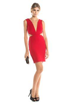 Dress & Go - Aluguel de vestidos de grandes estilistas | Vestido Clara Vermelho