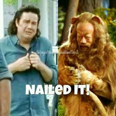 Aw. Eugene IS the Cowardly Lion (That must be why I love Eugene Porter. I love the Cowardly Lion a ton too <3)