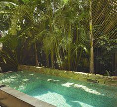 Casa Eugenia's private pool. UXUA Casa Hotel & Spa, Trancoso, Bahia, Brazil.