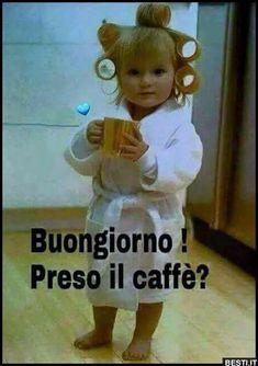 Buongiorno Italian Memes, Italian Quotes, Italian Life, Italian Words, Good Morning Good Night, Day For Night, Happy Weekend, Cool Baby Stuff, Good Mood