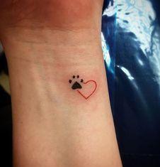 Grab your hot tattoo designs. Get access to thousands of tattoo designs and tattoo photos Mini Tattoos, Little Tattoos, Body Art Tattoos, Tatoos, Finger Tattoos, Cat Paw Tattoos, Woman Tattoos, Cross Tattoos, Tribal Tattoos
