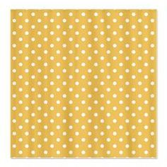 Golden with White Dots Shower Curtain > White Dots > MarloDee Designs Shower Curtains