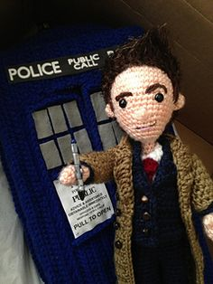 Ravelry: Tenth Doctor Who Amigurumi Pattern pattern by Allison Hoffman