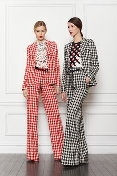 love these suits! - via Fashion Hippo
