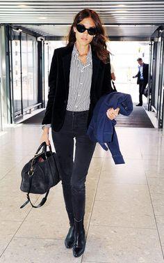 Inspiração: O clássico blazer preto