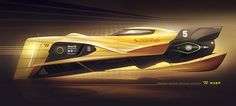 ArtStation - Racing vehicle concept, Encho Enchev