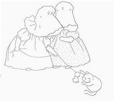Want to recreate Sunbonnet Sue from Japanese Taupes