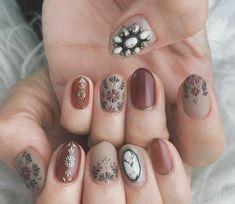 Diy Nails, Cute Nails, Pretty Nails, Beach Nails, Halloween Nail Art, Flower Nails, Manicure And Pedicure, Pedicures, Nail Arts