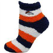 @Fanatics ®  #FanaticsWishList  Denver Broncos Ladies Tri-Color Fuzzy Sleep Socks