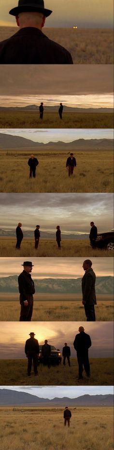 Breaking Bad Season 3 Episode 13 Opening Scene.